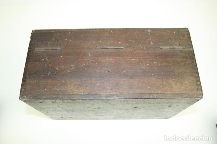 Antigüedades: ELEVADOR - REDUCTOR - CON AURICULARES - PRINCIPIOS DEL SIGLO XX - Foto 20 - 43906665