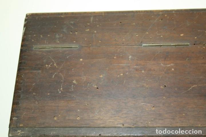 Antigüedades: ELEVADOR - REDUCTOR - CON AURICULARES - PRINCIPIOS DEL SIGLO XX - Foto 21 - 43906665