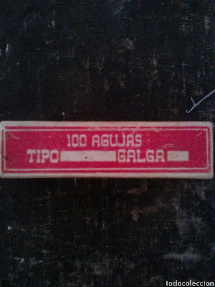 Antigüedades: CAJA completa Cien Agujas para tricotosa - Foto 2 - 64329739
