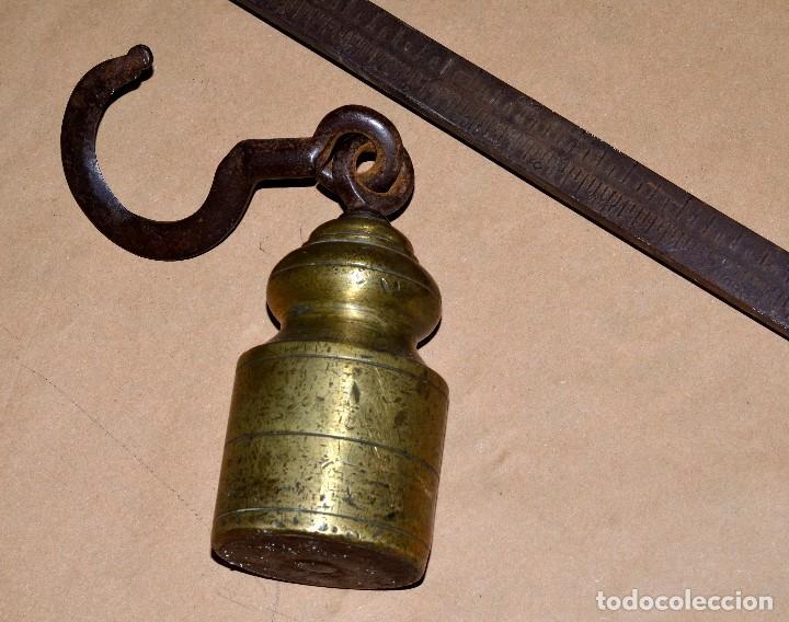 Antigüedades: ENORME ROMANA, CONTRAPESO DE BRONCE - Foto 2 - 64500151