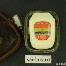 Antigüedades: FOTÓMETRO BERTRAM MODELO BEWI AUTOMAT A HECHO EN ALEMANIA AÑO 1955 CON CELULA DE SELENIO F284. Lote 64652703