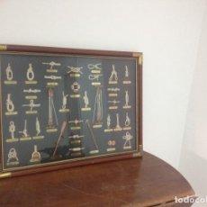 Antigüedades: CUADRO NUDOS NAUTICOS. Lote 64655239