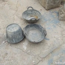 Antigüedades: ESPUERTAS DE GOMA -2 REGALO CALDERO,DE ALBAÑILERIA. Lote 107409950