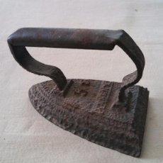Antigüedades: ANTIGUA PLANCHA DE HIERRO 5 S. Lote 66466379