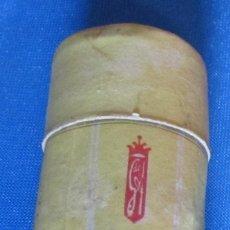 Antigüedades: ENVASE DE CARTÓN PARA CONTENER BARRA DE JABÓN DE AFEITAR GOTA DE AMBAR, BARCELONA, SIN FECHA,. Lote 64970831