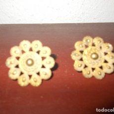 Antigüedades: 2 ANTIGUOS EMBELLECEDORES. Lote 64972055