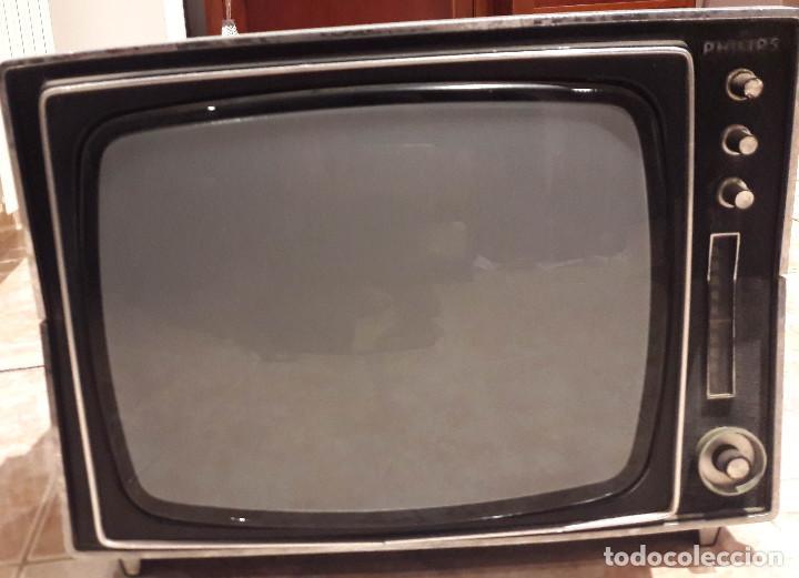 TV TELEVISOR ANTIGUO PHILIPS VINTAGE (Antigüedades - Técnicas - Varios)