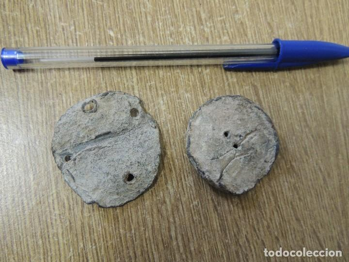 Antigüedades: dos antiguos ponderales romanos - Foto 2 - 65766206