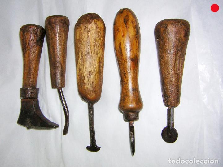 Colecci n de antiguas herramientas de zapatero comprar - Herramientas de campo antiguas ...