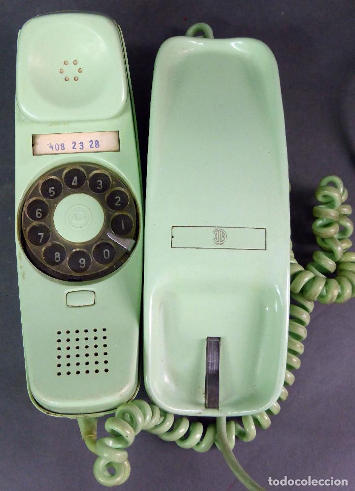 Teléfonos: Teléfono Góndola verde Citesa Málaga años 70 - Foto 3 - 65860214