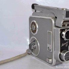 Antigüedades: BONITA FILMADORA, CINE A CUERDA,8MM..MEOPTA ADMIRA 8F.CHECOSLOVAQUIA 1960..MUY BUEN ESTADO..FUNCIONA. Lote 65987638