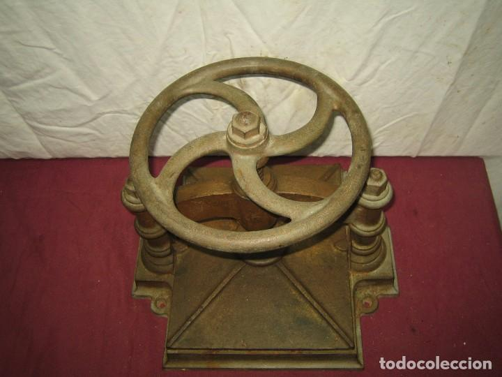 Antigüedades: PRENSA DE ENCUADERNACION / IMPRENTA / LIBRERIA... XIX - Foto 5 - 66029034