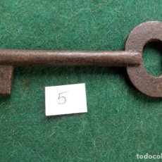 Antigüedades: LLAVE ANTIGUA 13 X 5. Lote 66104082