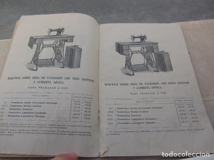 Antigüedades: Catálogo Maquinas de Coser Singer 1912 - Foto 3 - 66105310