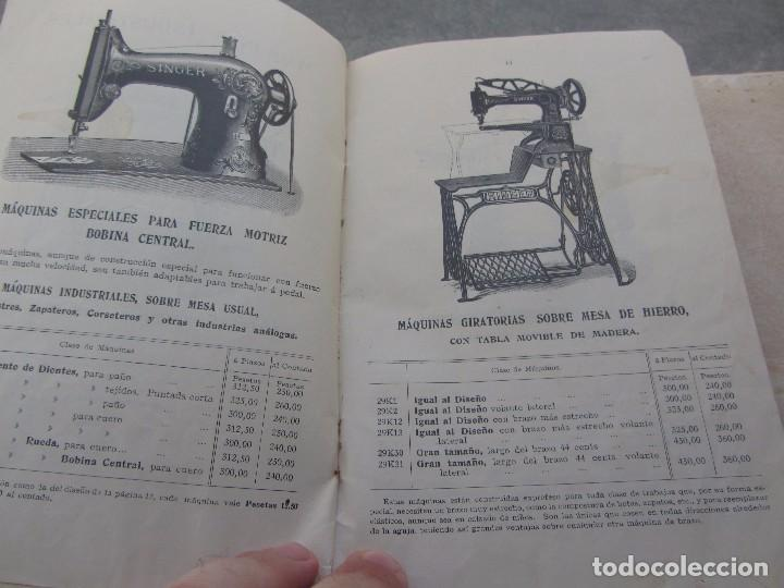 Antigüedades: Catálogo Maquinas de Coser Singer 1912 - Foto 4 - 66105310