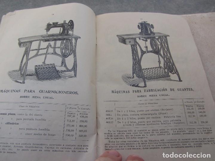 Antigüedades: Catálogo Maquinas de Coser Singer 1912 - Foto 5 - 66105310
