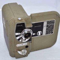 Antigüedades: BONITA Y RARA CAMARA DE CINE A PILAS..EUMIG ELECTRIC..AUSTRIA 1955..MUY BUEN ESTADO..FUNCIONA. Lote 66130266