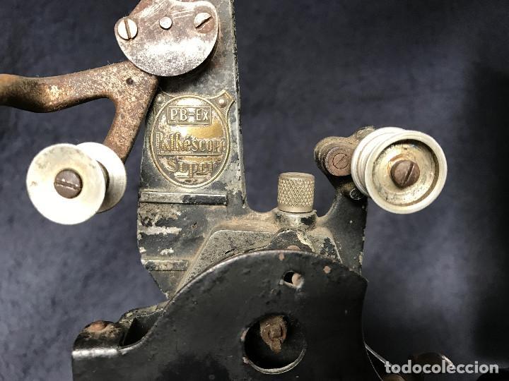 Antigüedades: PROYECTOR PRECINE PATHE BABY, 1920. 16 o 9,5 MM? - Foto 6 - 66130678