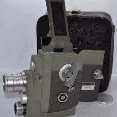 Antigüedades: FILMADORA REFLEX A CUERDA. 8 MM..SEKONIC MICRO EYE SPECIAL 53 F3+FUNDA..JAPON 1960..MUY BUEN ESTADO.. Lote 66141230