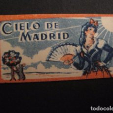 Antiguidades: CIELO DE MADRID - ENVOLTORIO DE HOJA DE AFEITAR ANTIGUA -VER FOTOS - (V- 7312). Lote 66148210
