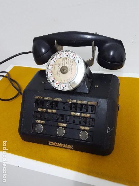 TELÉFONO CENTRALITA ANTIGUA. (Antigüedades - Técnicas - Teléfonos Antiguos)