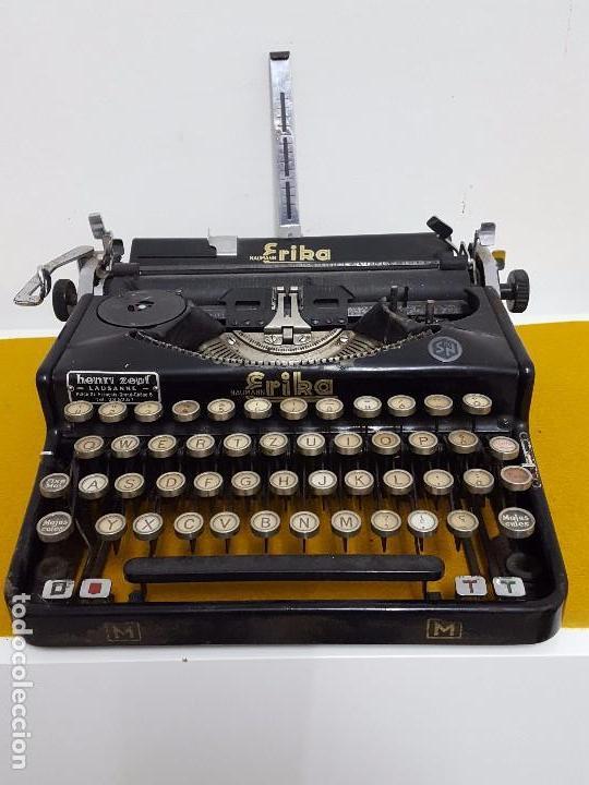 ERIKA NAUMANN. (Antigüedades - Técnicas - Máquinas de Escribir Antiguas - Erika)