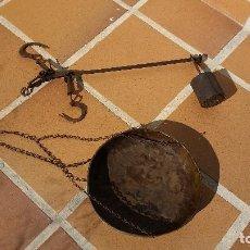 Antigüedades: PEQUEÑA ROMANA CON PLATILLO. Lote 66223866
