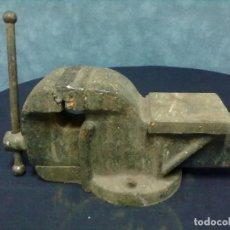 Antigüedades: YUNQUE TORNILLO MESA. Lote 66301850