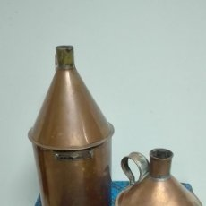 Antigüedades: MEDIDAS DE CAPACIDAD DE COBRE. . Lote 66500638