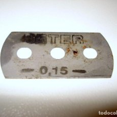Antigüedades: HOJA DE AFEITAR BETER ANTIGUA. Lote 66619154