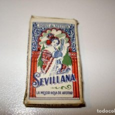 Antigüedades: ANTIGUA HOJA DE AFEITAR LA SEVILLANA. Lote 66631034
