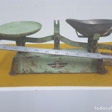 Antigüedades: RARA BALANZA ANTIGUA DE PRECISIÓN. . Lote 66755582