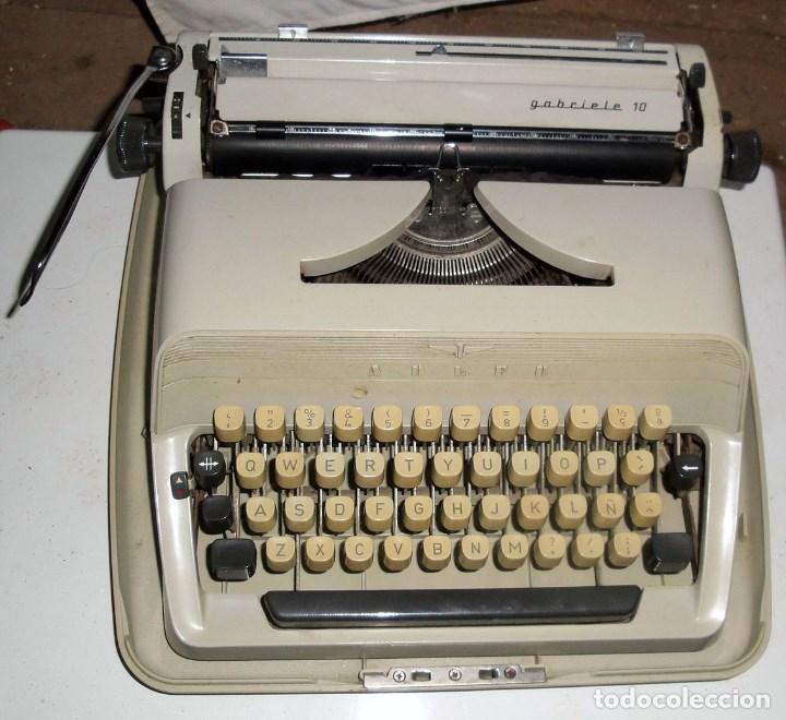 ADLER GABRIEL 10 (Antigüedades - Técnicas - Máquinas de Escribir Antiguas - Otras)