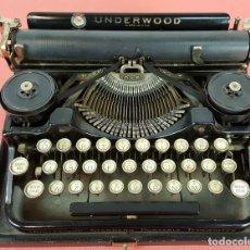 Antigüedades: MAQUINA DE ESCRIBIR. UNDERWOOD. STANDART PORTABLE TYPEWRITER. 1928.. Lote 66836422