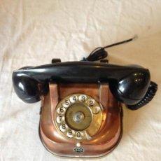 Teléfonos: TELÉFONO BRONCE FTR BELGA. Lote 66850338