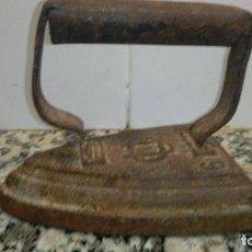 Antigüedades: ANTIGUA PLANCHA PARA REPARAR Nº 6. Lote 66878390
