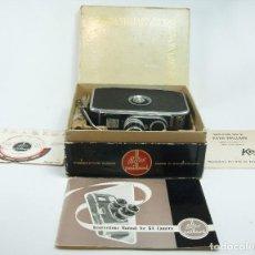 Antigüedades: LOTE CÁMARA CINE DE 8 MM PAILLARD BOLEX B8 1955 SUIZA. Lote 66906470
