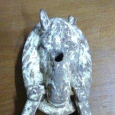 Antigüedades: ALDABA CABALLO. 21 CMS.. Lote 66932897
