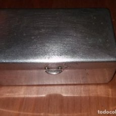 Antigüedades: ESTUCHE CAJA METALICA MADE IN USA GUILLETTE. Lote 67058066