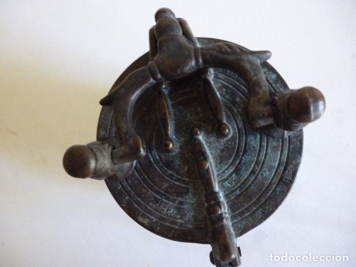 Antigüedades: ANTIGUOS PONDERALES VASOS ANIDADOS NUREMBERG SIGLO XVII PONDERAL PESOS PESAS 980,00 € - Foto 3 - 67090665