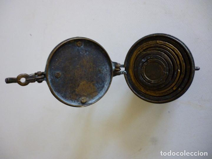 Antigüedades: ANTIGUOS PONDERALES VASOS ANIDADOS NUREMBERG SIGLO XVII PONDERAL PESOS PESAS 980,00 € - Foto 4 - 67090665
