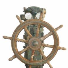Antigüedades: COLUMNA BRONCE TIMON BARCO. TODO ORIGINAL ANTIGUO.. Lote 67115909
