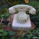 Teléfonos: ANTIGUO TELÉFONO DE BAQUELITA ALEMAN W48 EN COLOR BLANCO MARFIL. DEUSCH POST. Lote 67220425