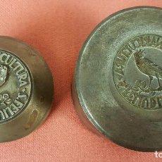 Antigüedades: PLANCHAS PARA TROQUELAR. CANARICULTURA. SANT FELIU DE LLOBREGAT. SIGLO XX.. Lote 67377793