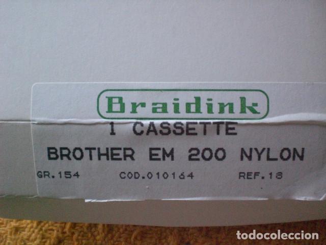 Antigüedades: cinta brother para máquina de escribir eléctrica - Foto 2 - 196522403