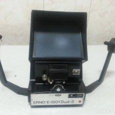 Antigüedades: VISIONADORA DE SUPER 8 MARCA ERNO E-1201 DUAL-8 - VINTAGE. Lote 275285668