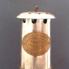 Antigüedades: ANTIGUA LAMPARA DE MINAS TYPE I A, J.M.W.LTD HARLOW ESSEX, FABRICADO EN GALES. Lote 67943305