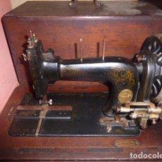 Antigüedades: ANTIGUA MAQUINA DE COSE FRISTER&ROOSMAN FABRICADA EN ALEMANIA . Lote 67966529