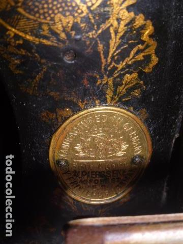 Antigüedades: ANTIGUA MAQUINA DE COSE FRISTER&ROOSMAN FABRICADA EN ALEMANIA - Foto 2 - 67966529