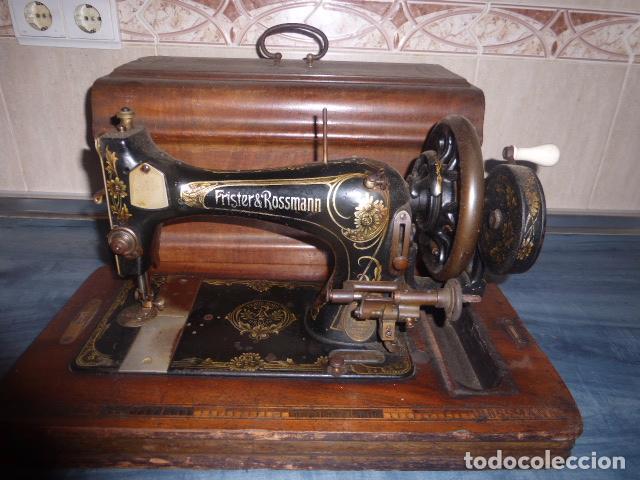 ANTIGUA MAQUINA DE COSER FRISTER & ROOSMANN (Antigüedades - Técnicas - Máquinas de Coser Antiguas - Frister & Rossmann)